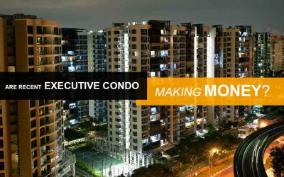 Are the owners of recently MOP Executive Condominiums making or losing money?