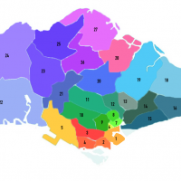Singapore Districts & Regions
