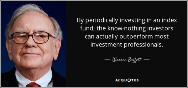 Warren Buffett on ETF