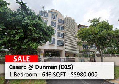 Casero @ Dunman 1-Bedroom for Sale
