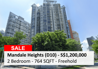 Mandale Heights 2 Bedroom for Sale