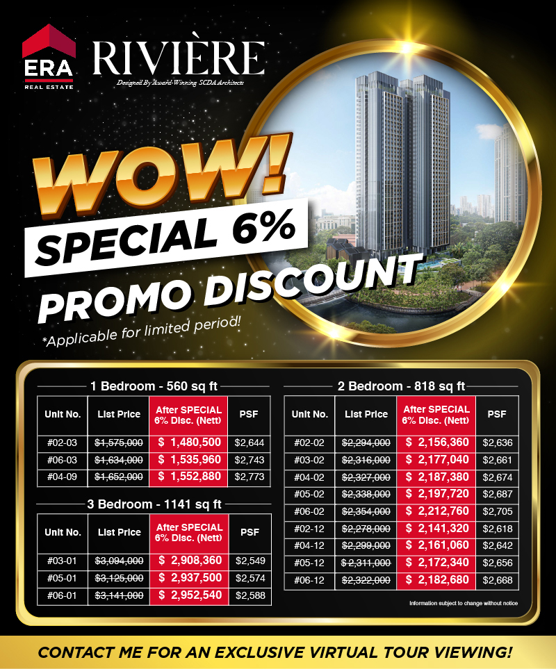 Riviere May 2020 Promotion