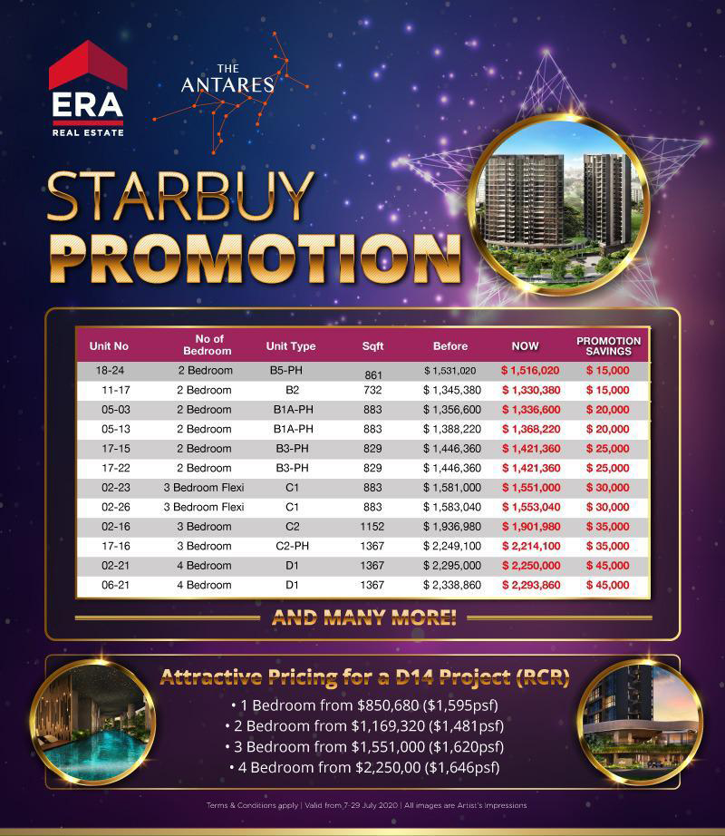 Antares Starbuy Unit for July 2020