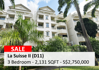La Suisse II 3-Bedroom for Sale