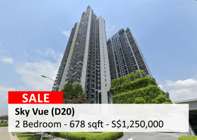 Sky Vue 2 Bedroom for Sale