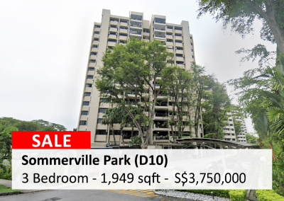 Sommerville Park 3 Bedroom for Sale
